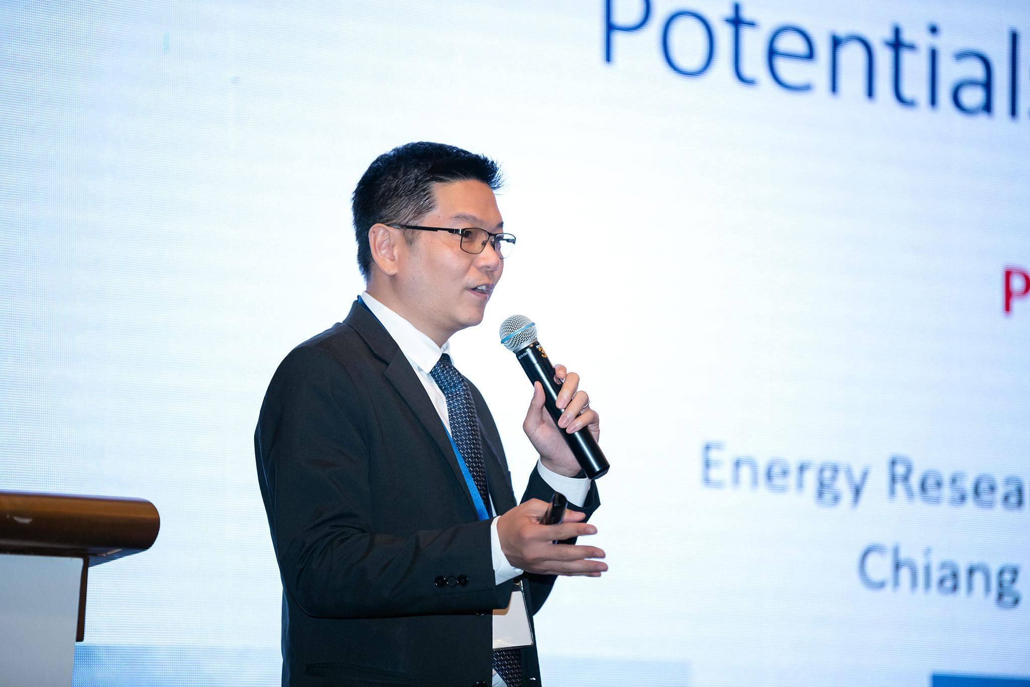 ERDI CMU ร่วมออกบูธในงานสัมมนา เรื่อง การพัฒนาศักยภาพการซื้อขาย LNG และ LPG ในเอเชีย