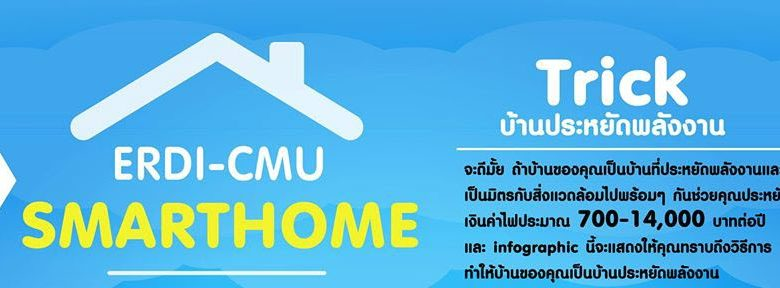 SmartHome How to บ้านประหยัดพลังงาน