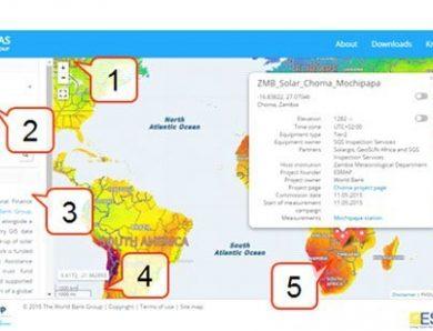 เครื่องมือคำนวณประสิทธิภาพพลังงานแสงอาทิตย์ทุกพื้นที่บนโลก (Global Solar Atlas)