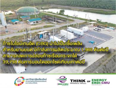 ศูนย์ถ่ายทอดเทคโนโลยีและติดตั้งต้นแบบระบบผลิตก๊าซไบโอมีเทนอัด