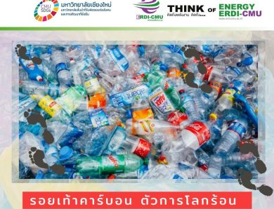 รอยเท้าคาร์บอน (Carbon Footprint)