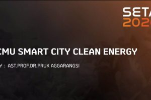 """The talk features""""CMU Smart City Clean Energy"""" at SETA 2020"""