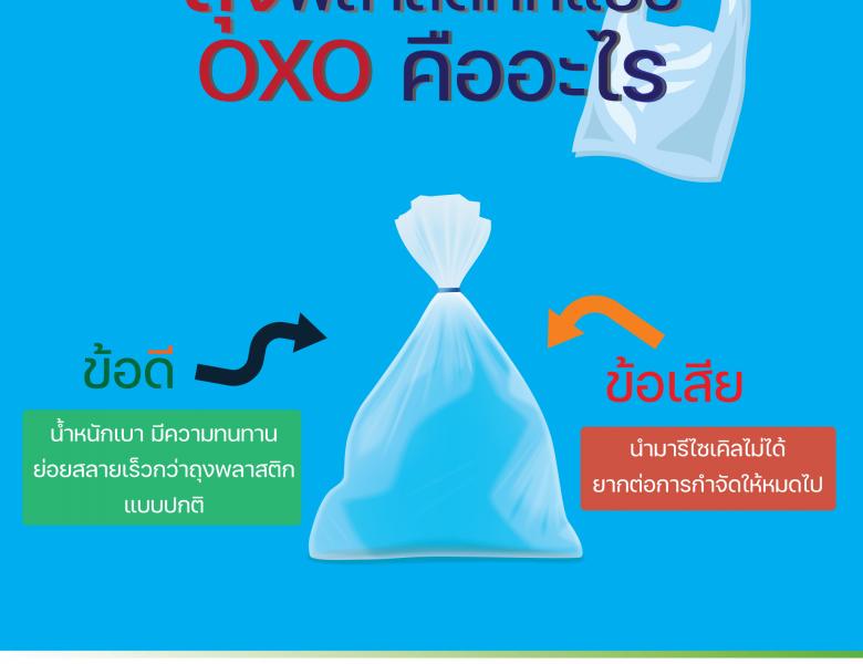 ถุงพลาสติกแบบ OXOคืออะไร