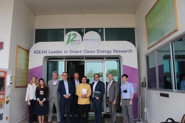 สถานทูตฟินแลนด์ประจำประเทศไทย และคณะตัวแทน เข้าพบปะ พุดคุย แลกเปลี่ยนข้อมูลด้านพลังงานทดแทน