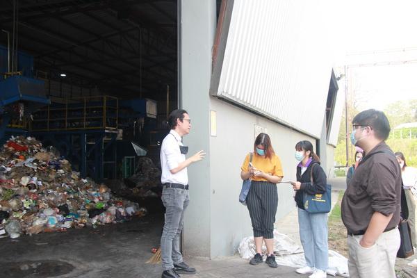 นักศึกษาโครงการจิตอาสา FOOD WASTE มช. เรียนรู้การบริหารจัดการเศษอาหารและขยะมูลฝอย