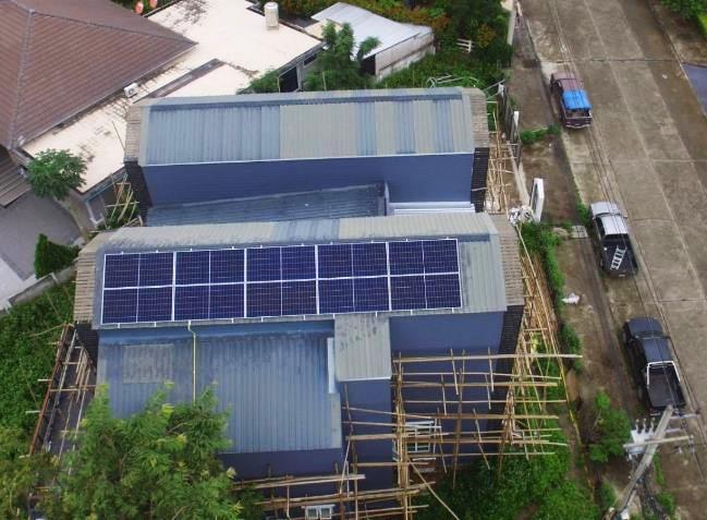 """""""Solar Home"""" หรือระบบผลิตไฟฟ้าพลังงานแสงอาทิตย์ (Solar Rooftop) บนหลังคาบ้านพักอาศัย"""